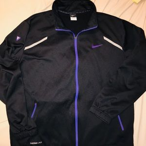 Nike Therma-fit fleece lined Kobe track jacket
